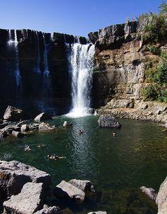 Laja Falls, Chile