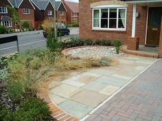 Wimbledon low maintenance front garden Our Forever Home House