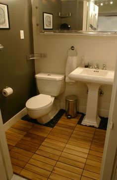 Small Cool 2009: Emileu0027s Customized Rental. Tile Bathroom ...