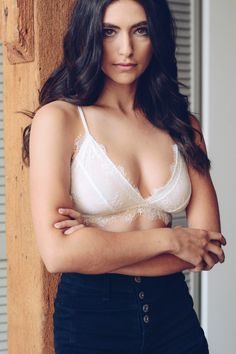 e5189428ebc8d leto wholesale fashion best selling sexy cute bra bralettes intimates  eyelash trim scallop lace bralette Bralettes