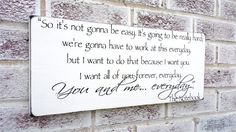 Romantic The Notebook quote sign, Wedding Signs, Engagement party, Will you you marry me, marriage proposal, romantic quote, reception decor