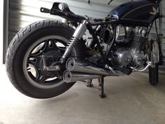 Cb650c Beginning Of Cafe Racer Build