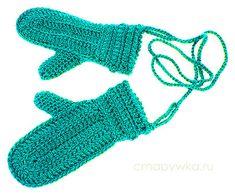 Вязаные рукавички - мастер-класс - Варежки,перчатки,митенки - Вязание крючком -МАСТЕР-КЛАССЫ ПО РУКОДЕЛИЮ- Страна рукоделия