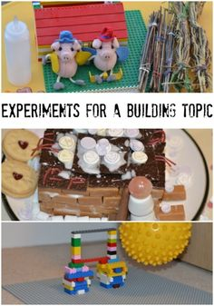 Fun experiments for a building topic, great for KS1 Materials or any kids who love hands on science investigations.