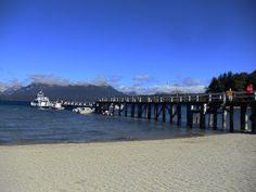 Angostura. Embarcadero en Lago Nahiuel Huapi