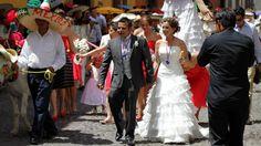 A romantic Saturday wedding in San Miguel de Allende.