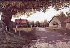 Burma Shave by Jim Harrison Jim Harrison, Art Thou, Beautiful Family, American Artists, Old Houses, Cool Art, Country Roads, Sky, In This Moment