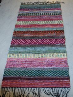 Trasmatta Loom Weaving, Hand Weaving, Textiles, Fabric Yarn, Tear, Recycled Fabric, Woven Rug, Rugs On Carpet, Rag Rugs