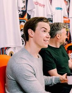 Cute Celebrities, Celebs, Fionn Whitehead, Will Poulter, Tim Robbins, Maze Runner The Scorch, James Dashner, The Scorch Trials, Pac Man