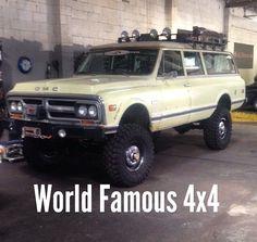 World Famous 4x4 Burb.