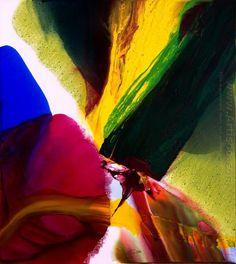 Paul Jenkins ~ Phenomena Phoenix Equinox, 2006 (acrylic)