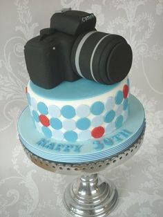 Canon Camera Cake, Ha My Photographer Friends Would Love This!!!