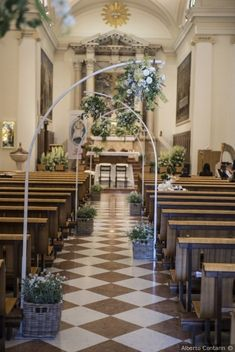Indescribable Wedding Countdown Plan, Tips And Ideas. Exhilarating Wedding Countdown Plan, Tips And Ideas. Wedding Pews, Church Wedding Decorations, Marriage Decoration, Wedding Stage, Wedding Centerpieces, Rustic Wedding, Wedding Flowers, Wedding Church, Church Flowers