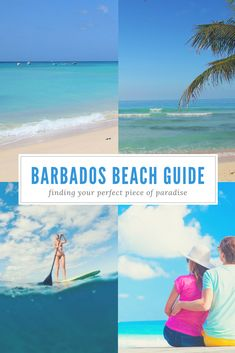 Gentle waves or lively seas, sunbathing or snorkeling, best for kids or seniors, we'll help you find YOUR perfect Barbados beach...