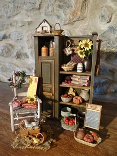 "Les Carnets de l'Atelier Blondie: L'armoire ""Country"" - The ""Country"" Cabinet"