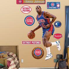 Vinnie Johnson, Detroit Pistons
