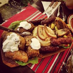 Typical romanian dish | Flickr – Condivisione di foto! Romania, French Toast, Dishes, Breakfast, Food, Morning Coffee, Tablewares, Essen, Meals