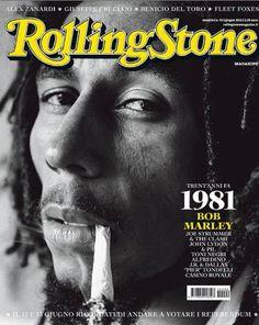 Bob Marley Rolling Stone Magazine cover 1981