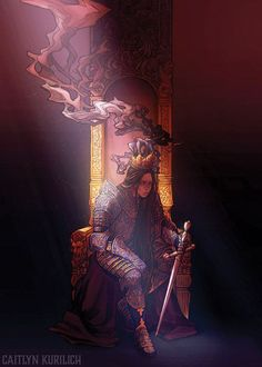 The Womanking - Caitlyn Kurilich Illustration Art And Illustration, Fantasy Inspiration, Character Design Inspiration, Female Knight, Lady Knight, Pretty Art, Larp, Art Inspo, Amazing Art