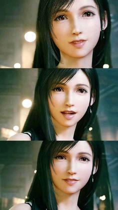Tifa Lockhart #finalfantasy #TifaLockhart Final Fantasy Xv Prompto, Final Fantasy Collection, Final Fantasy Artwork, Final Fantasy Characters, Tifa Cosplay, Cloud And Tifa, Tifa Lockhart, Digital Art Girl, Gaming