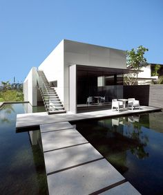 Modern House on Water - SCDA Architects