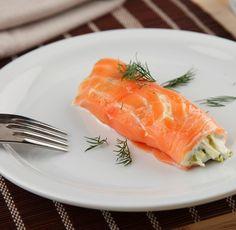 Canelón de salmón