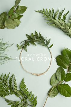 The House That Lars Built: How To Make A Floral Crown
