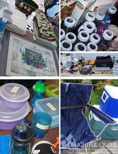 Organized Garage / Yard Sale