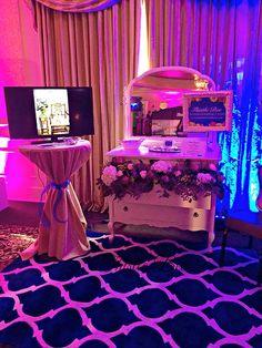 Thistle Bee the Florist- Serving Stewartsville, NJ & Lehigh Valley | 2015 Bridal Show  Floral Design Wedding Show Booth