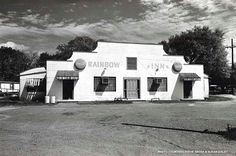 """Rainbow Inn, Pierre Part, La. The Rainbow Inn is one of the few Cajun dance halls, or """"salles de danse,"""" still in operation since the 1930s. These dance halls served as ballrooms and community gathering spots where patrons could hear live music, court, dance and eat gumbo. Today, it remains a good place to hear """"swamp pop,"""" a musical genre indigenous to south Louisiana and adjoining southeast Texas that combines New Orleans, country and western and traditional French Louisiana influences."""