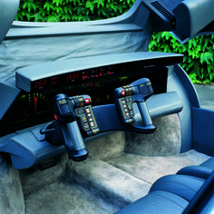 Oldsmobile Incas (ItalDesign), 1986 - Interior