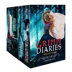 The Grimm Diaries Prequels volume 7- 10: Once Beauty Twice Beast, Moon & Madly, Rumpelstein, Jawigi by Cameron Jace, http://www.amazon.com/gp/product/B00B392XIE/ref=cm_sw_r_pi_alp_BN3-qb0DARV19