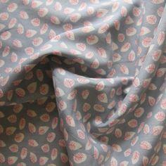 Silver Leaf Cotton Lawn Fabric - Guthrie & Ghani