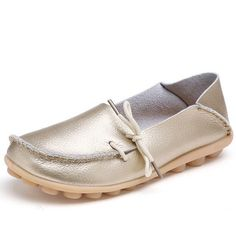 New Hot 20 Colors Natural Leather Women Flats Casual Moccasins Driving Loafers Women's Shoes Fashion Comfortable Shoes Woman