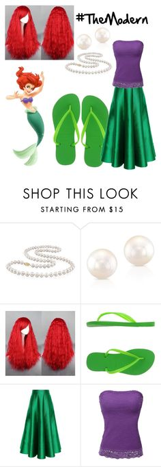 """""""Ariel - The little Mermaid. #TheModern"""" by bloody-angel2003 ❤ liked on Polyvore featuring interior, interiors, interior design, home, home decor, interior decorating, Miadora, Havaianas, Natasha Zinko and Doublju"""