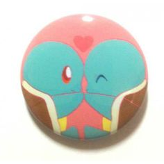 Pokemon Center 2013 15th Anniversary Squirtle Tin Can Badge
