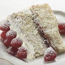 tender white cake~
