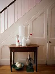 Door under stairs - Kayla LeBaron Interiors: Staircase Storage Ideas Decor, Stairs, Stair Paneling, Under Stairs Cupboard, Entryway, Living Etc, Home Decor, Stairs And Doors, Closet Door Storage