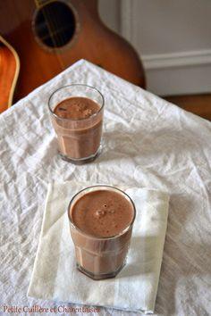 Petite Cuillère et Charentaises: Milk-shake Banane, Chocolat et Café