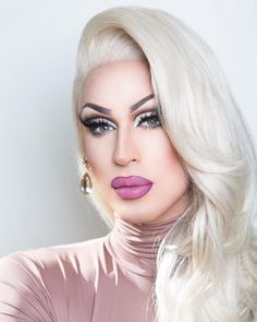Less than one week till Miss Gay America! Drag Queen Make-up, Rupaul Drag Queen, Drag Makeup, Sexy Makeup, Drag Queens, Pantomime, Violet Chachki, Canadian Girls, Queen Makeup