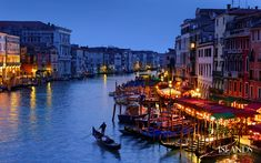 Nightfall on Canal Grande
