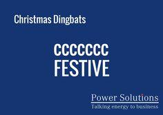 Power Solutions UK - Christmas Dingbat no 7