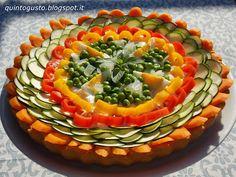 Apriti Sesamo - Cucina greca e non solo: Crostata arcobaleno salata