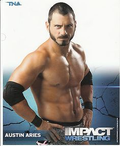 AUSTIN-ARIES-TNA-IMPACT-WRESTLING-OFFICIAL-LICENSED-8x10-PROMO-PHOTO
