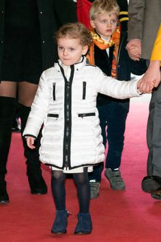 Princess Gabriella of Monaco and Prince Jacques of Monaco attend the International Circus Festival of MonteCarlo on January 20 2019 in Monaco. Prince Albert, Princesa Charlene, Charlene Of Monaco, Monaco Royal Family, Royal Babies, Royal House, William Kate, Monte Carlo, Kate Middleton