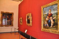 4-Sala di Raffaello, Uffizi gallerà Fidenza on January ,17, 2015 long weekend with Hans