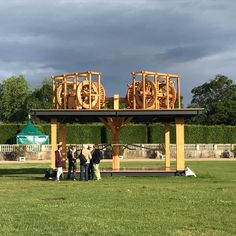 Antonio Vega Macotela, The Mill of Blood, 2017, steel, wood, and glass. At the Westpavilion (Orangerie) at Documenta 14, Kassel, June 10 through September 17 @documenta14 @documentakassel #documenta14 @gilinski