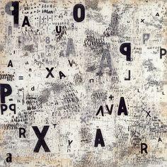 grupaok:  Mira Schendel, Graphic Object, 1967