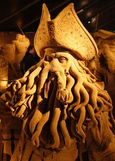 """#4 sand castle - Davy Jones from """"Pirates of the Caribbean"""""""