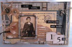Birthday card boy Pion Design
